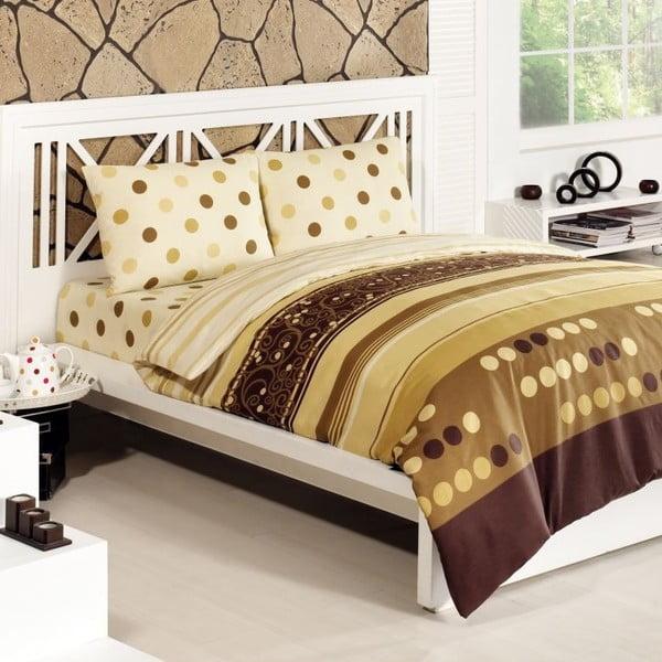 Obliečky Simay Gold, 240x220 cm