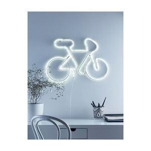 Biela LED dekorácia Markslöjd Bicycle