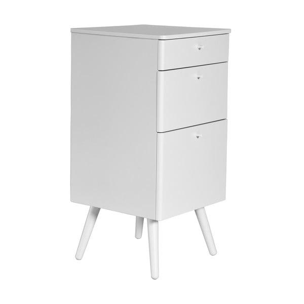 Kancelárske zásuvky Niles, 59x40cm, biele