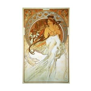 Obraz Alfons Mucha Music, 60x90 cm