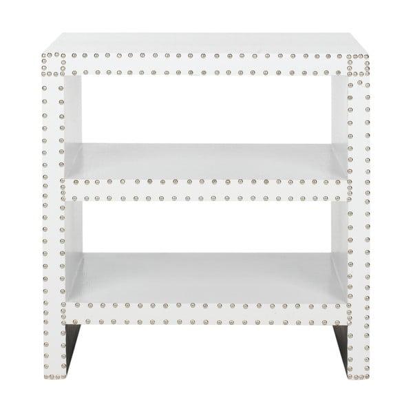 Odkladací stolík Tahla, biely