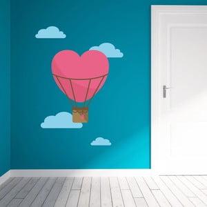 Samolepka na stenu Love Baloon