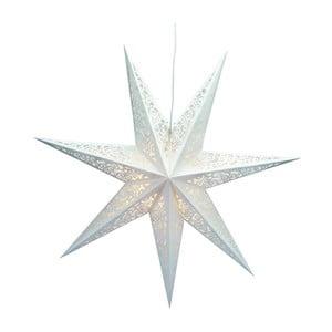 Svietiaca hviezda Vallby White, 75 cm