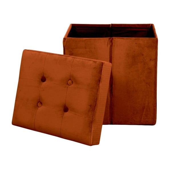 Skladacia oranžová taburetka Opjet Paris Amelie Orange