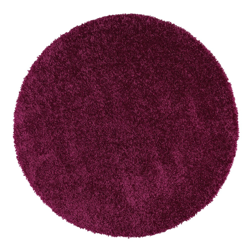Fialový koberec Universal Aqua, Ø 80 cm