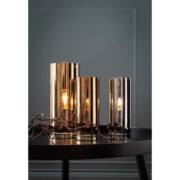 Medená stolová lampa Markslöjd Storm, 12 cm