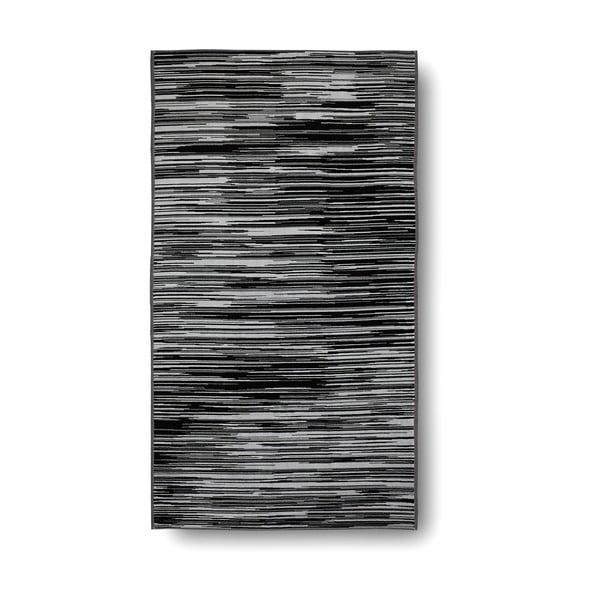 Černo-biela bavlnená osuška Casa Di Bassi Trendy, 100x180 cm