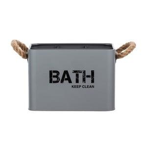 Sivý kúpeľňový box Wenko Gara