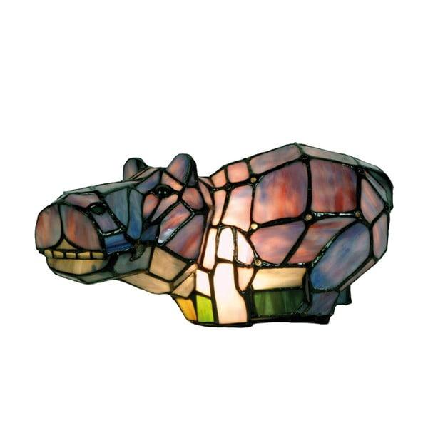 Tiffany stolné svetlo Hippo