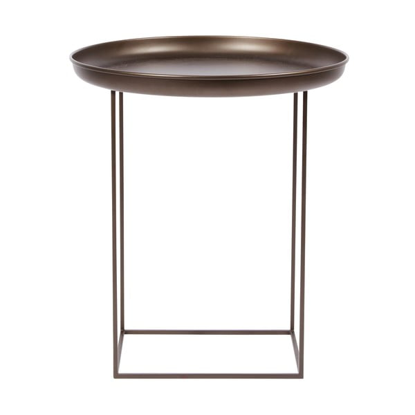 Bronzový odkladací stolík NORR11DukeSmall