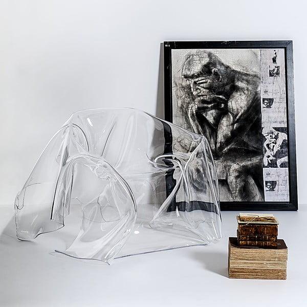 Kreslo Drapppeggi Poltrona Transparente