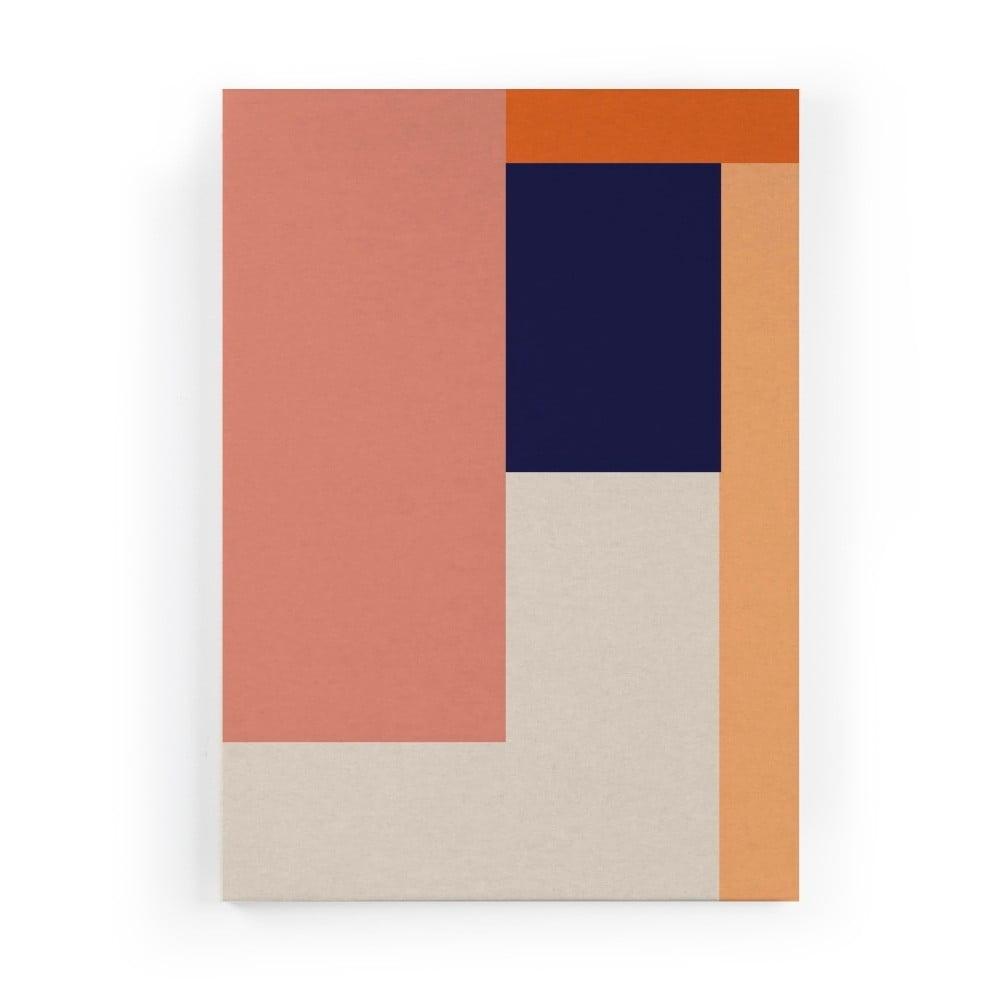 Obraz na plátne Really Nice Things Geometric Roce, 50 × 70 cm