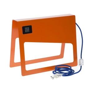 Oranžová stojacia lampa MEME Design Piega