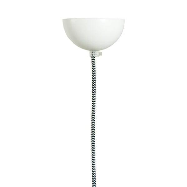 Stropné svetlo Glass Lamp, dymové