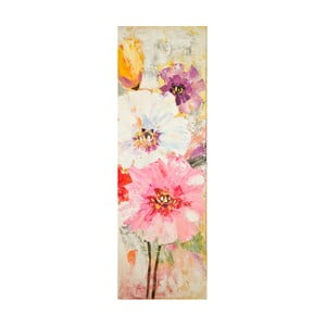 Ručne maľovaný obraz Mauro Ferretti Bouquet, 40 x 120 cm