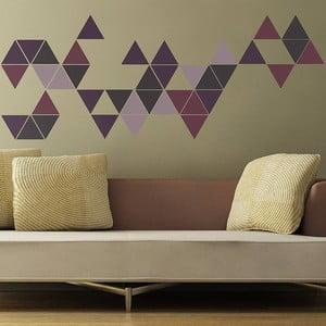 Samolepka na stenu Triangle, 70x50 cm