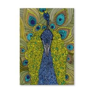 Autorský plagát The Peacock od Valentiny Ramos