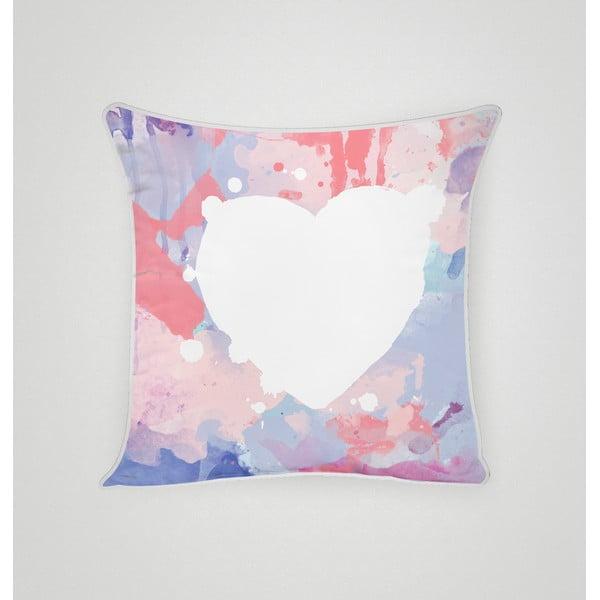 Obliečka na vankúš Pastel Heart I, 45x45 cm