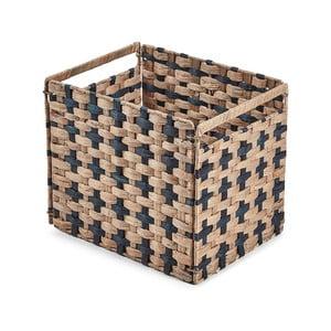 Hnedý košík La Forma Woody, 35 × 25 cm