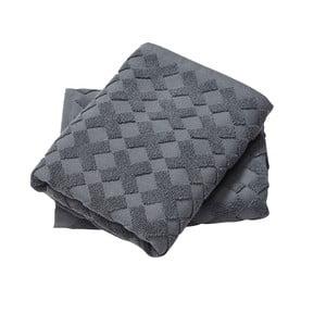 Osuška Cross Grey, 133x70 cm