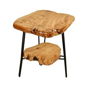 Odkladací stolík s doskou z cédrového dreva 360 Living Montanio 622