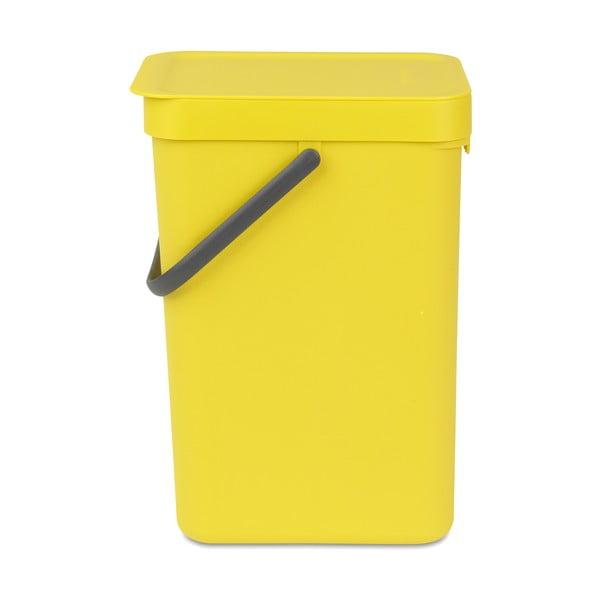 Kôš Sort & Go 12 l, žltý