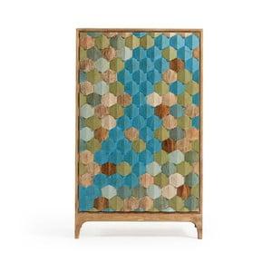 Farebná skrinka z mangového dreva La Forma Ilka