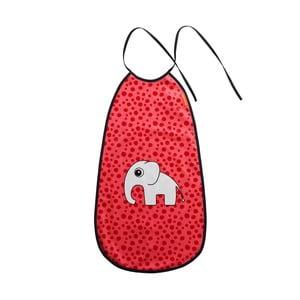 Červený podbradník Done by Deer Happy Dots