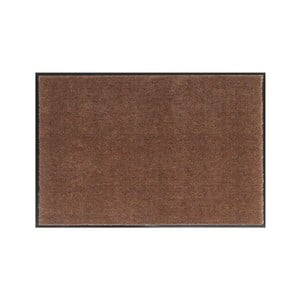Hnedá rohožka Hansa Home Soft and Clean, 39 x 80 cm
