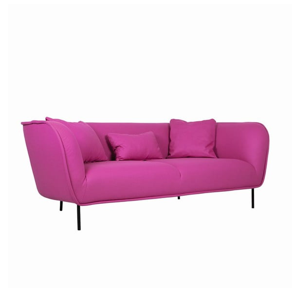 Pohovka pre troch Maja Panno Pink