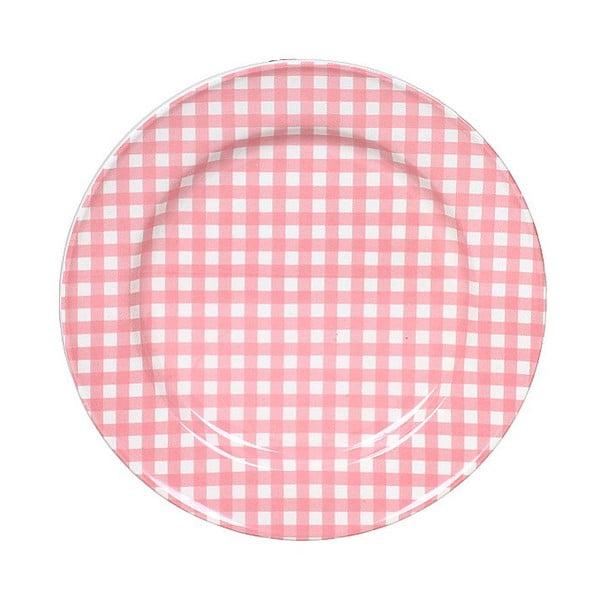 Keramický tanier Marikere Pink, 17 cm