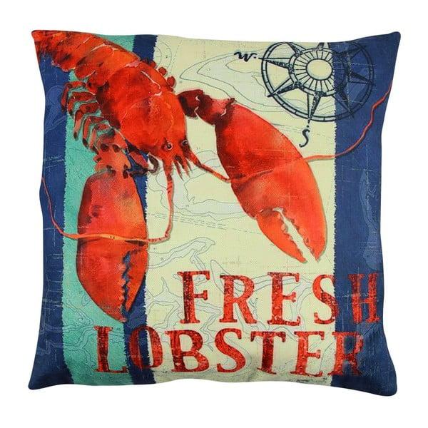 Vankúš s výplňou Fresh Lobster, 43x43 cm