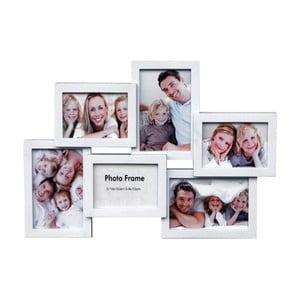 Biely fotorámik