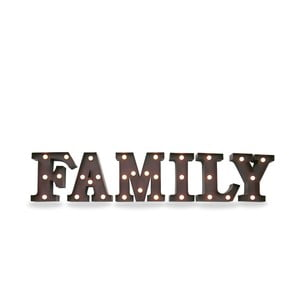 Svetelná LED dekorácia Family