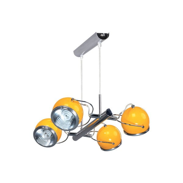 Závesné svetlo Ball Yellow