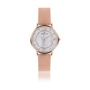 Dámske hodinky s antikoro remienkom v ružovozlatej farbe Frederic Graff Rose Liskamm Rose zlaté Mesh