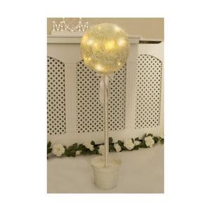 Svadobná dekorácia s LED svetielkami Pearl