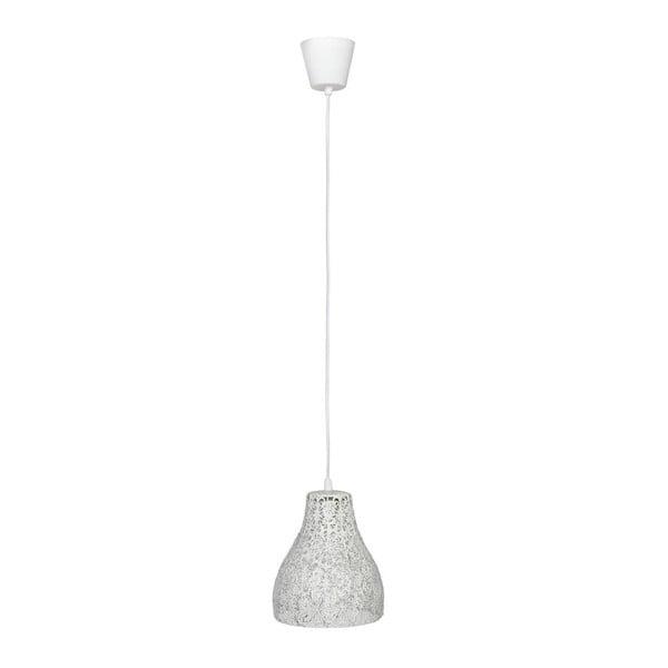 Stropné svetlo Dentelle White, 17x21 cm z bistra U Kubistu
