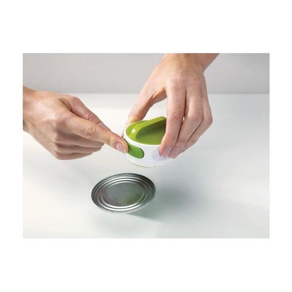 Bielo-zelený otvárač na konzervy Joseph Joseph Can-Do