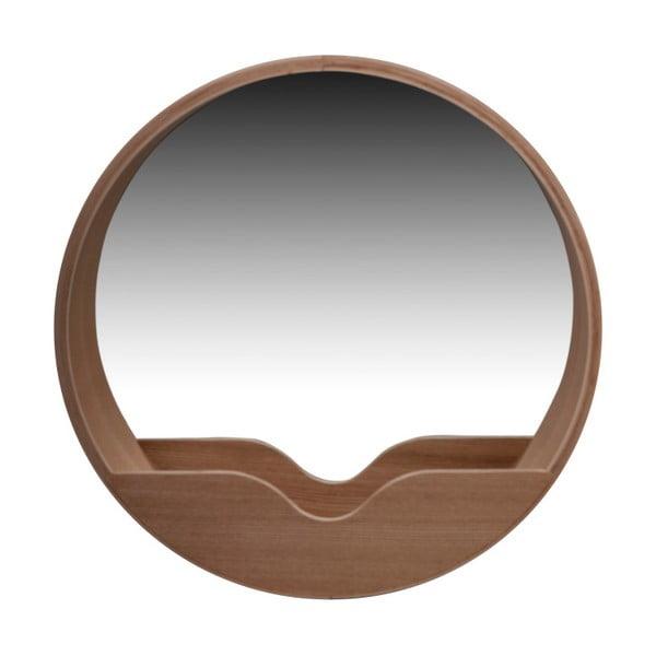 Nástenné zrkadlo s odkladacím priestorom Zuiver Round Wall, ⌀40 cm