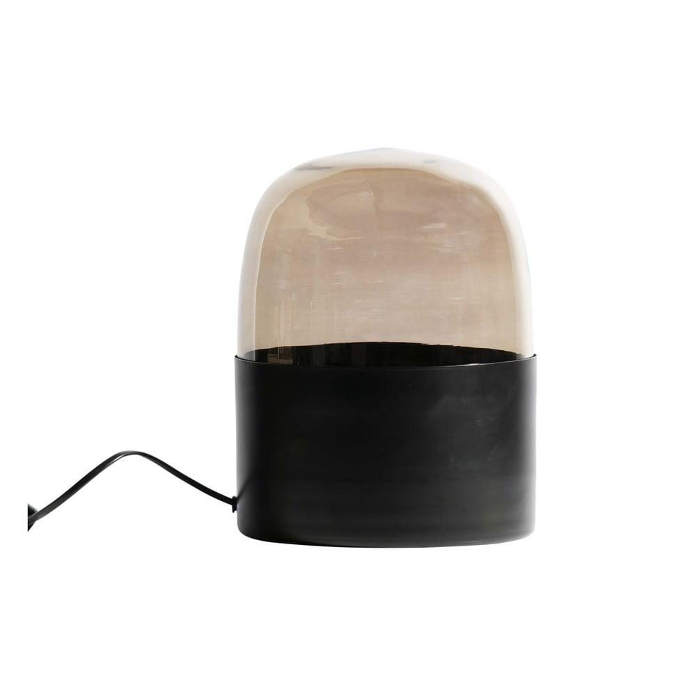 Čierna stolová stojaca lampa BePureHome Dome, ø22cm