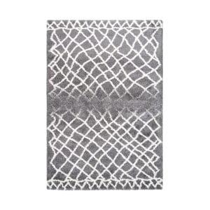 Sivý koberec Kayoom Villa, 160 x 230 cm