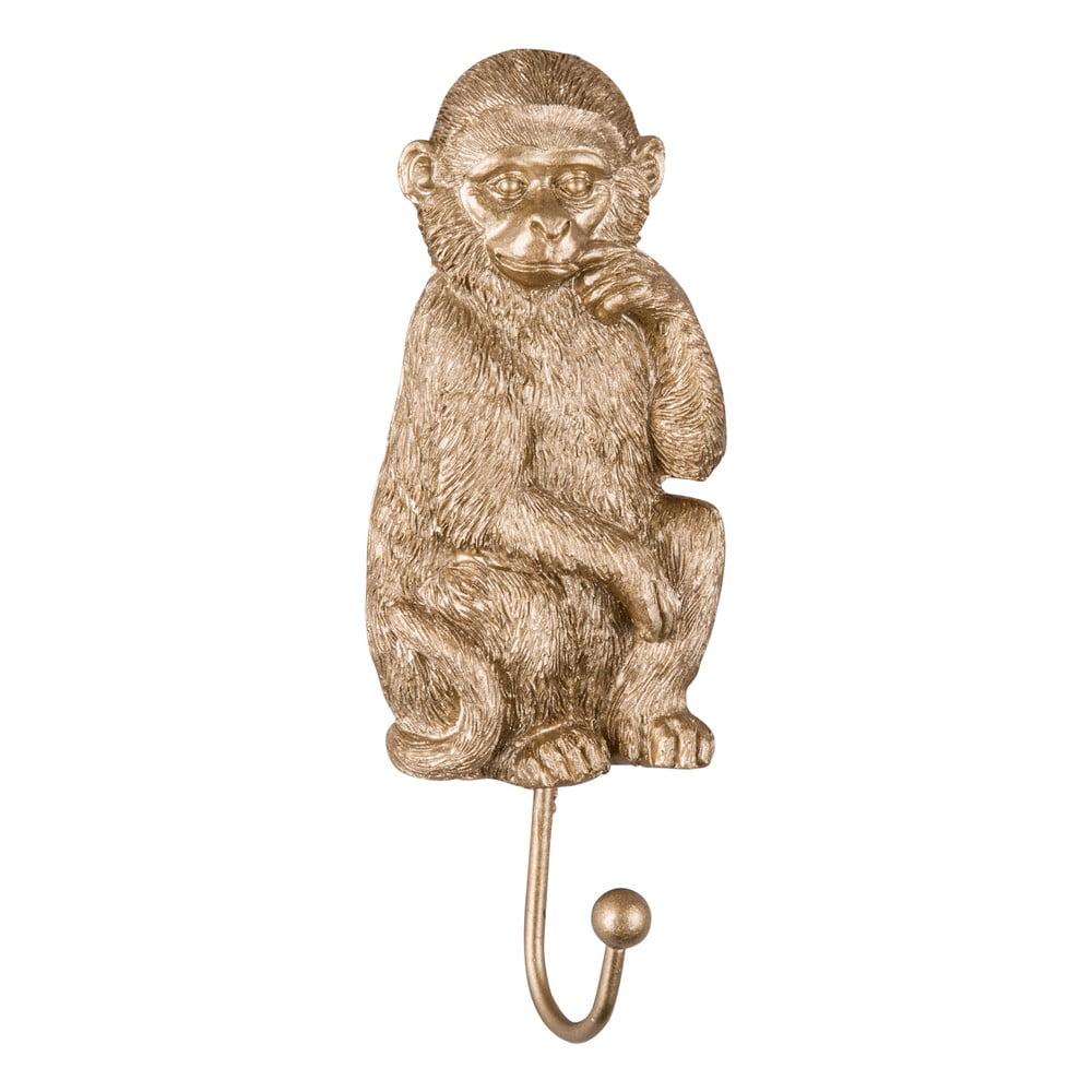 Háčik v zlatej farbe PT LIVING Monkey
