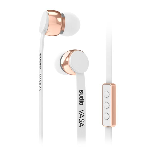 Biele slúchadlá Sudio VASA pro Android