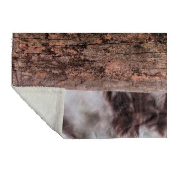 Prikrývka J-Line Olw Velvet, 140x160 cm