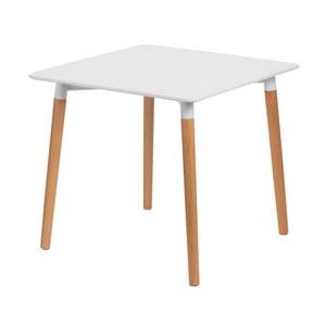 Stôl D2 Copine, 80x80 cm, biely