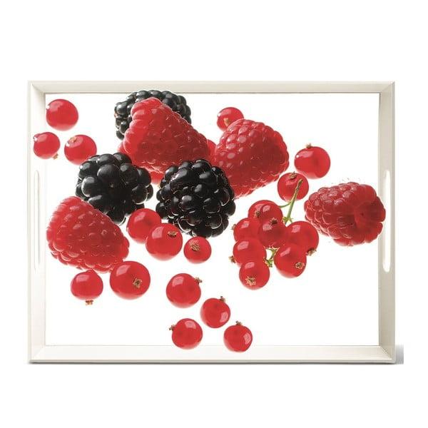 Podnos Classic Berries, 50x37 cm
