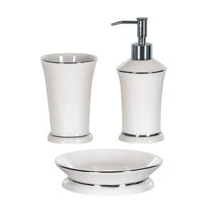 Kúpeľňový set Ascot White/Silver