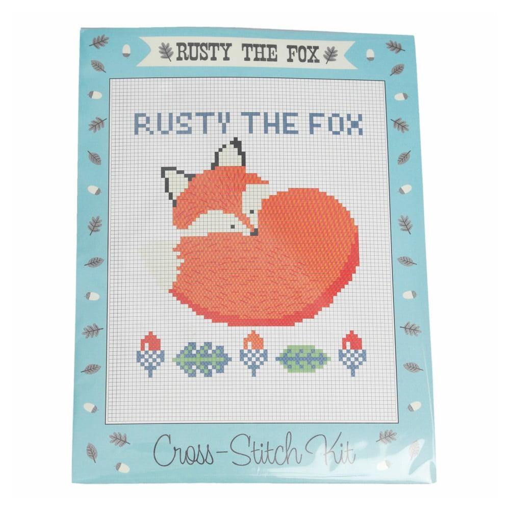 Vyšívací set na krížikové vyšívanie Rex London Rusty The Fox