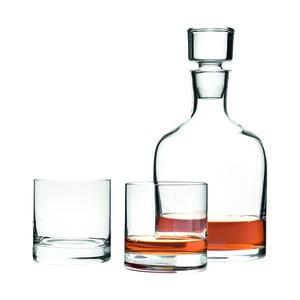 Karafa na whisky s dvoma pohármi LEONARDO Ambrogio, 0,7 l